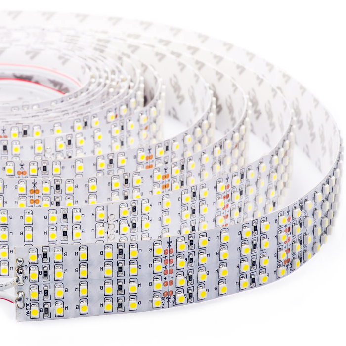Brightest LED Light Strips - Quad Row LED Tape Light with 137 SMDs/ft., 1 Chip SMD LED 3528