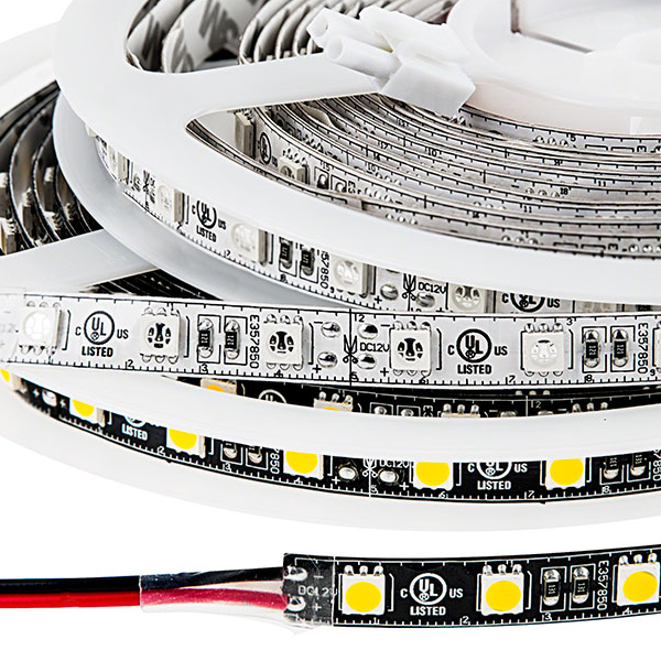 LED Light Strips - LED Tape Light with 18 SMDs/ft., 3 Chip SMD LED 5050 with LC2 Connector